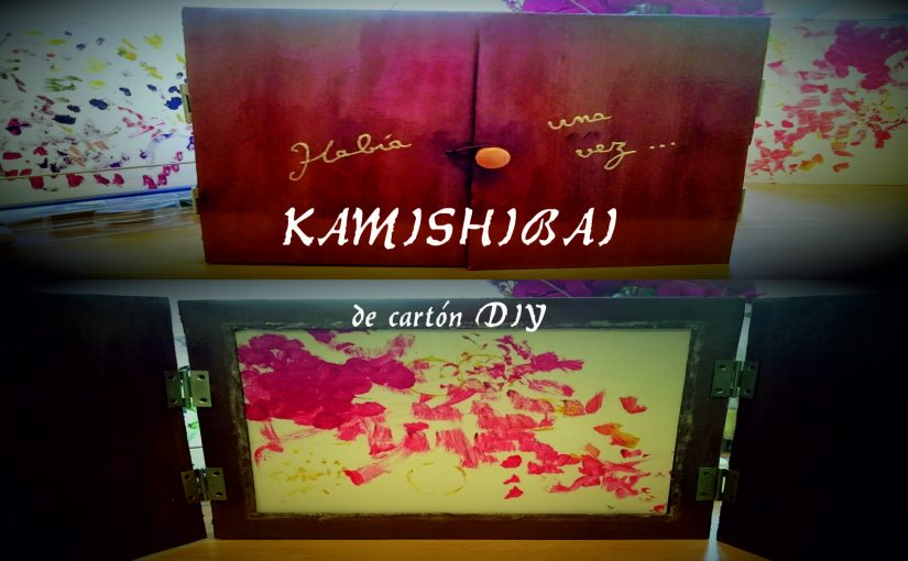 Kamishibai de cartón DIY (tutorial con fotos)
